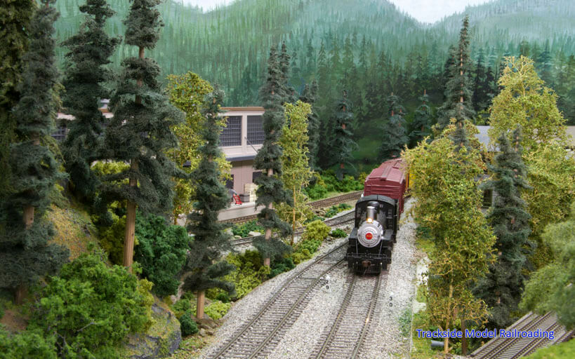 Trackside Model Railroading Dan Allen models the Kitchen Canyon Railroad on his small layout.