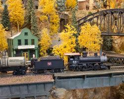 Trackside Model Railroading HO scale C&RGS