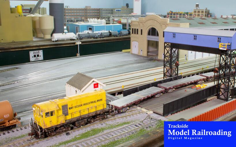 Trackside Model Railroading Chris LeBaugh models the M&W Railroad with his grandchildren.