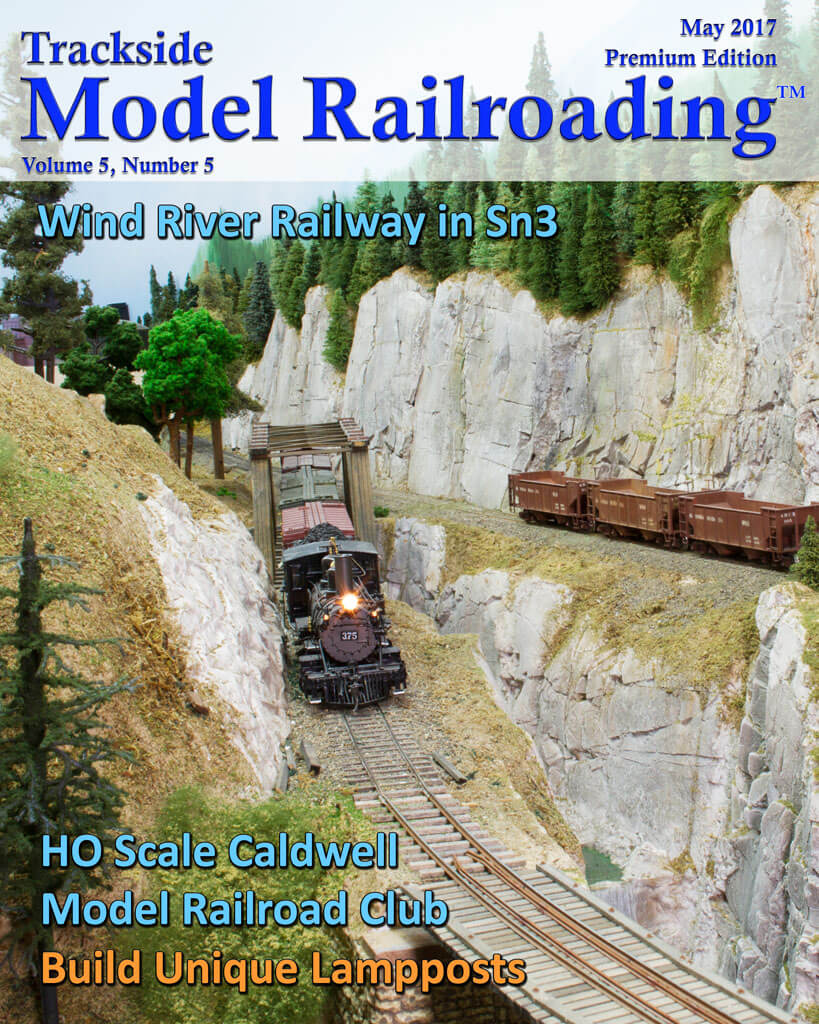 Trackside Model Railroading Digital Magazine May 2017 Cover