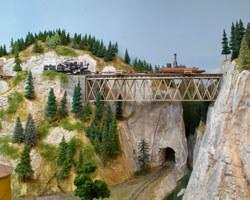 Trackside Model Railroading Sn3 scale Wind River Railway