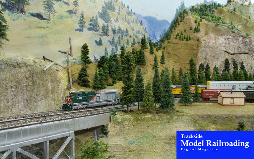 Trackside Model Railroading The Caldwell Model Railroad Club models southern Idaho's Treasure Valley in HO scale.