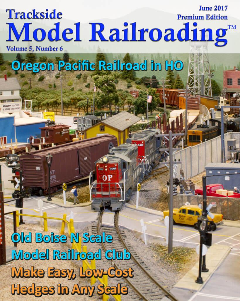 Trackside Model Railroading Digital Magazine June 2017 Cover