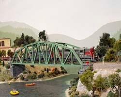 Trackside Model Railroading HO scale Oregon Pacific Railroad