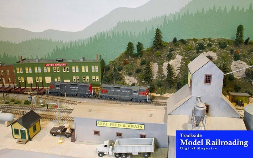 Trackside Model Railroading David Willis models the Oregon Pacific in western Oregon in 1965