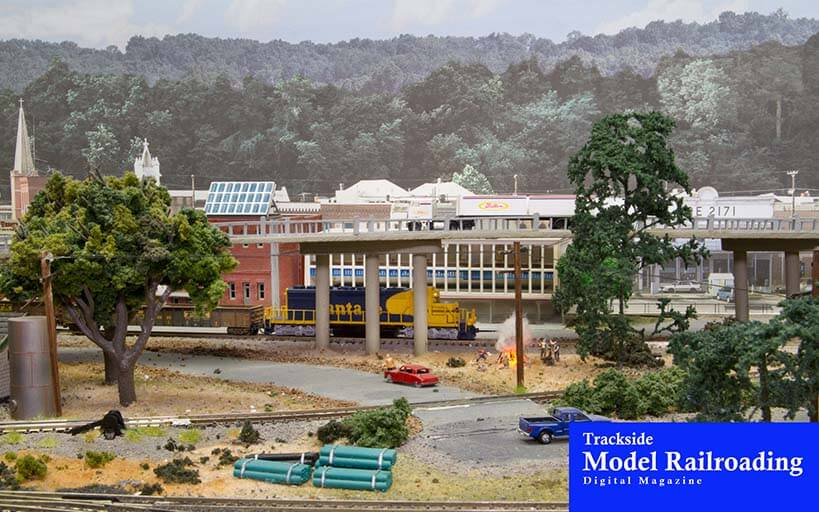 Trackside Model Railroading Old Boise N Scale Model Railroad Layout is a freelanced layout based in the Pacific Northwest