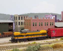 Trackside Model Railroading HO scale Northern Pacific's Pacific Shores railroad based in the Pacific Northwest