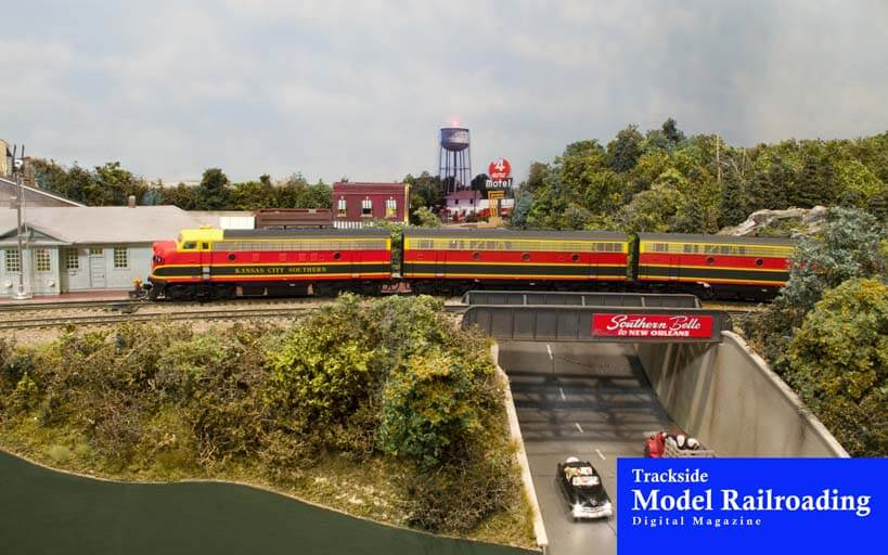 Trackside Model Railroading Nick Muff's Kansas City Southern Lines – Hot Springs Division