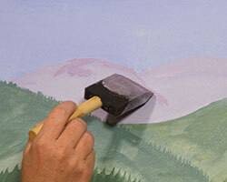 Paint a Basic Layout Background