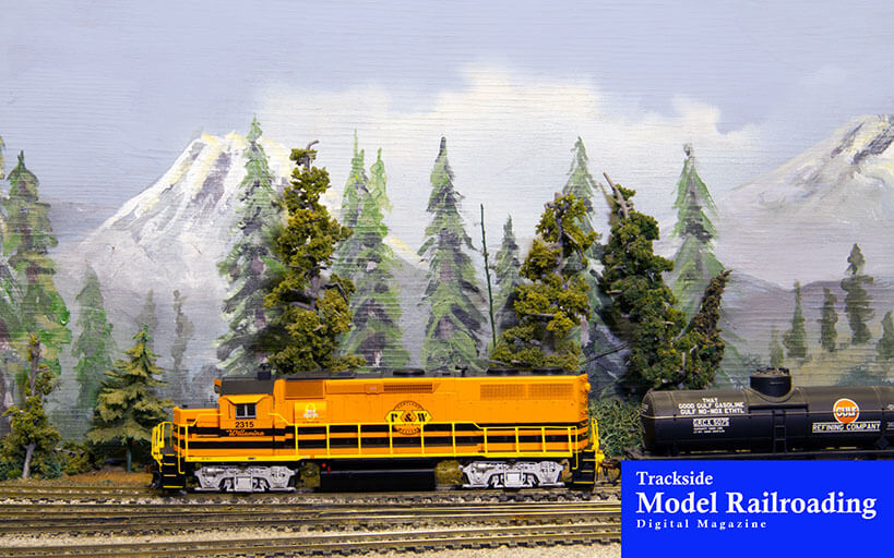Trackside Model Railroading Beaverton Modular Railroad Club's traveling HO scale layout
