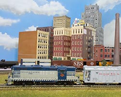 Trackside Model Railroading HO scale Fort Worth and Great Northern based in north Texas