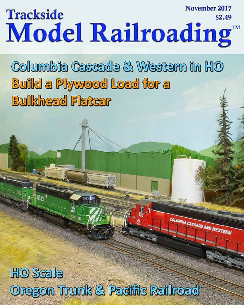Trackside Model Railroading Digital Magazine November 2017 Cover