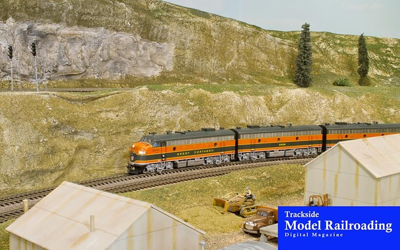 Trackside Model Railroading Beaverton Modular Railroad Club's Beaverton Suburban & Western Oregon Branch Lines HO and HOn3 scale layout