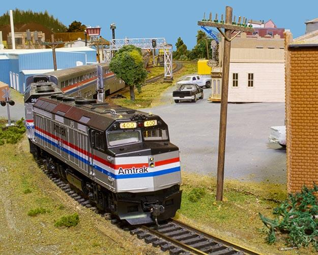 Trackside Model Railroading HO scale Chet's Northwest Industrial Railroad