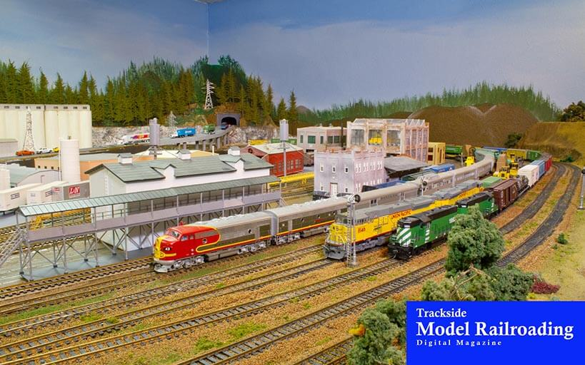 Trackside Model Railroading Northwest Industrial Railroad