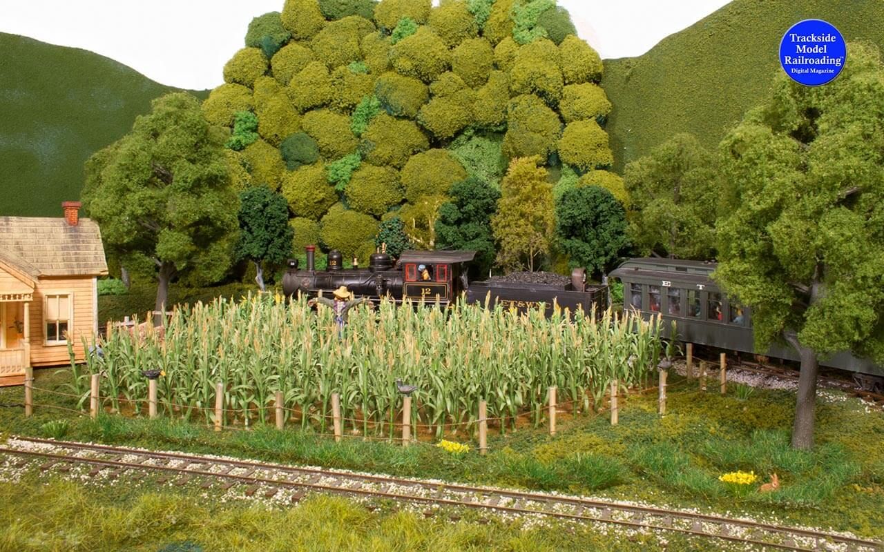 Trackside Model Railroading WWII-era northeastern Tennessee on Lee Bishop's Stoney Creek Southern Railroad.