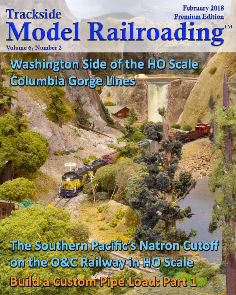 Trackside Model Railroading Digital Magazine February 2018 Cover