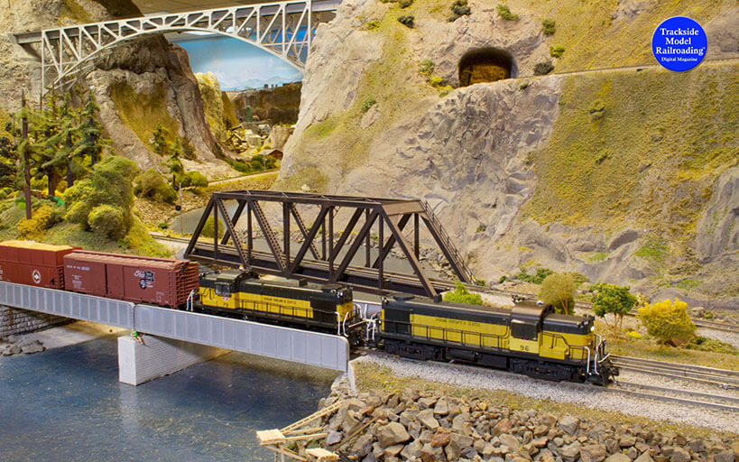 Trackside Model Railroading WWII-era northeastern Tennessee on Lee Bishop's Stoney Creek Southern Railroad.