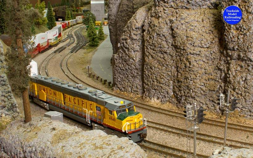 Trackside Model Railroading Columbia River Club in N Scale.
