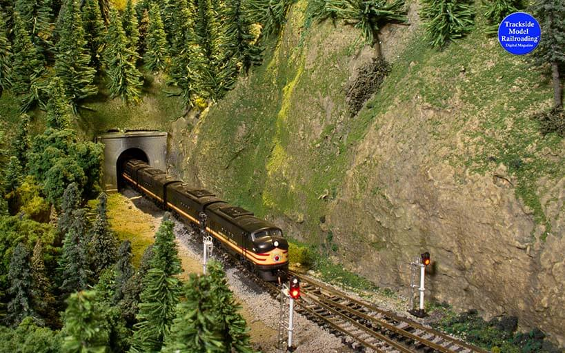 Trackside Model Railroading Northern Pacific and Stampede Railway in N Scale.