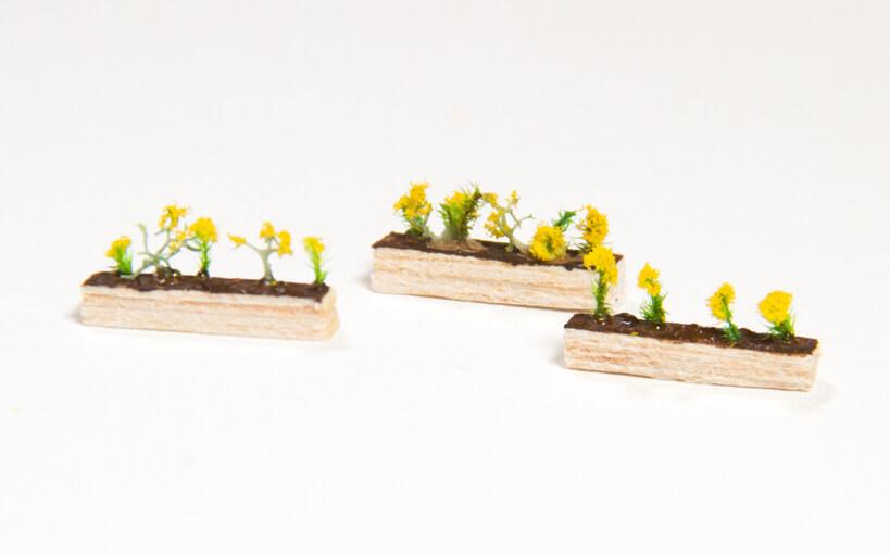Trackside Model Railroading, Make Flower Planter Boxes