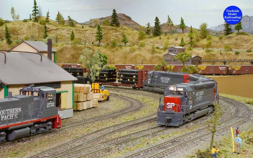 Trackside Model Railroading Modoc-Southern Pacific in HO Scale.
