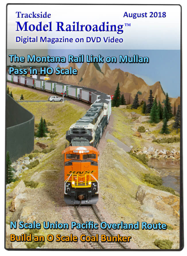 Trackside Model Railroading on DVD featuring the following: Montana Rail Link over Mullan Pass and Union Pacific's Overland Route.