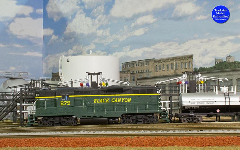 Trackside Model Railroading Modoc-Southern Pacific in HO Scale.