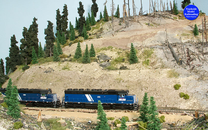 Trackside Model Railroading Pacific & Eastern Railroad in HO.