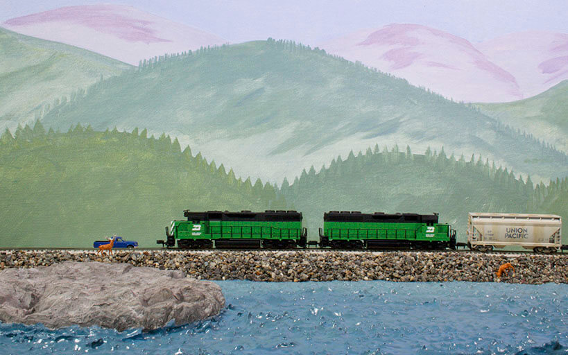Trackside Model Railroading, Build a Shop in HO scale