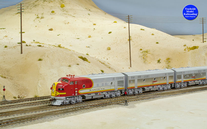 Trackside Model Railroading Cajon Summit in HO.