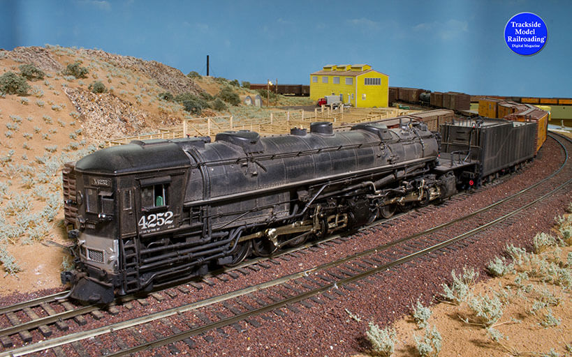 Trackside Model Railroading Southern Pacific Modoc in On30.
