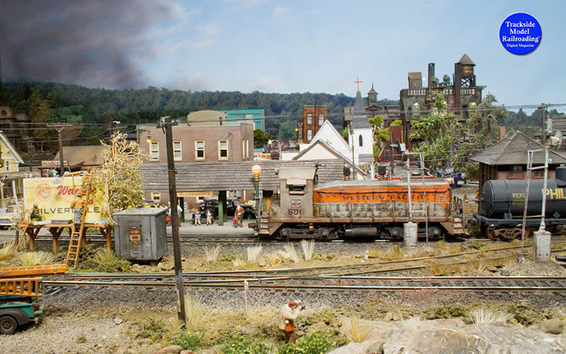 Trackside Model Railroading Western Pacific in HO.