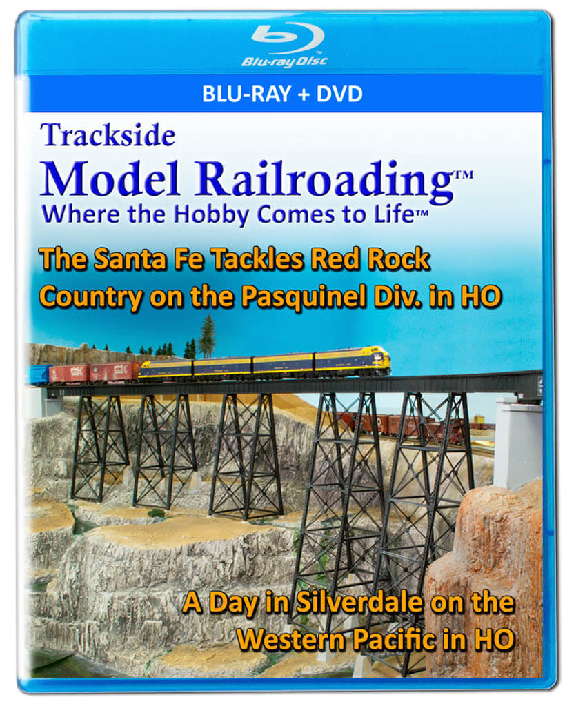 Trackside Model Railroading on DVD featuring the following: Pasquinel Division and Silverdale & Western