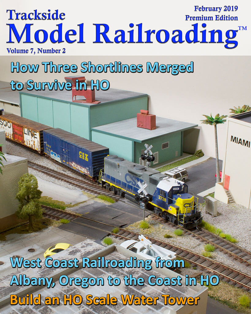 Trackside Model Railroading Digital Magazine February 2019 Cover