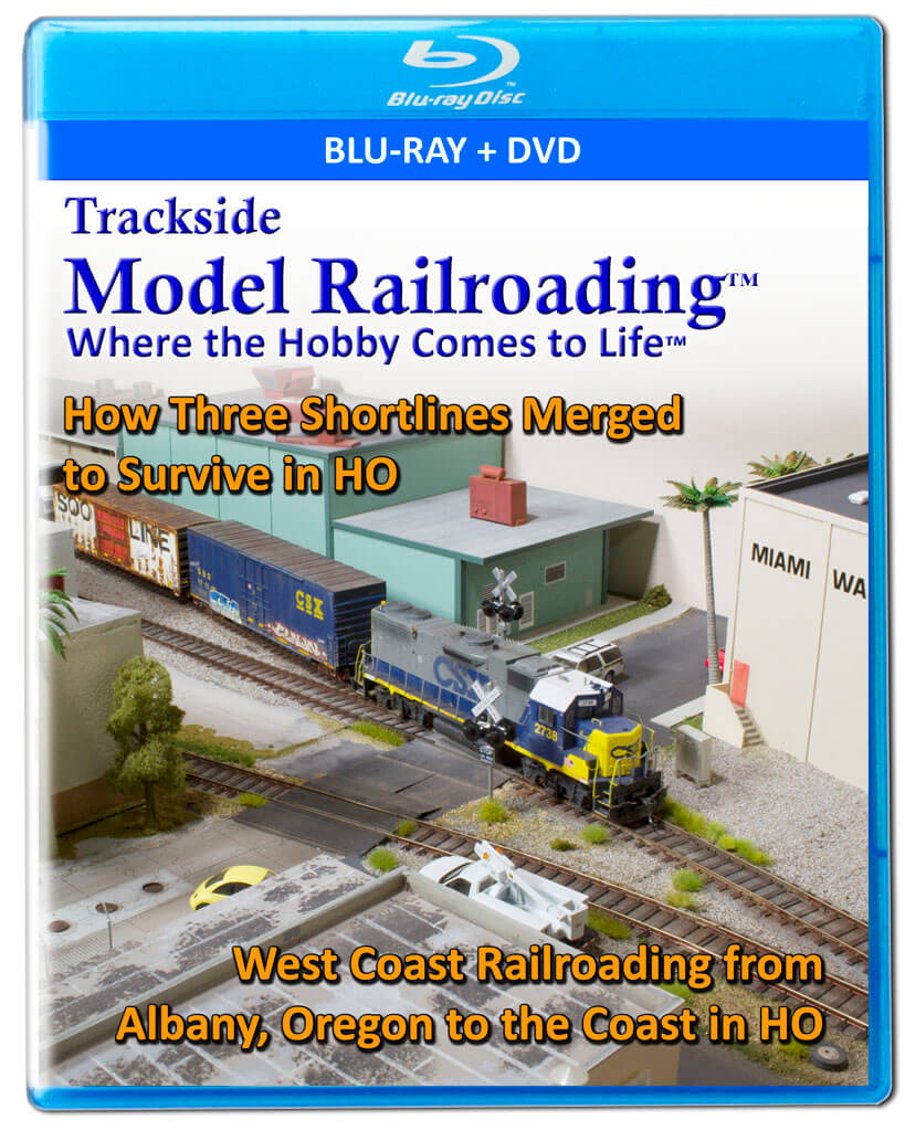 Trackside Model Railroading on Blu-ray featuring the best in model railroading tours