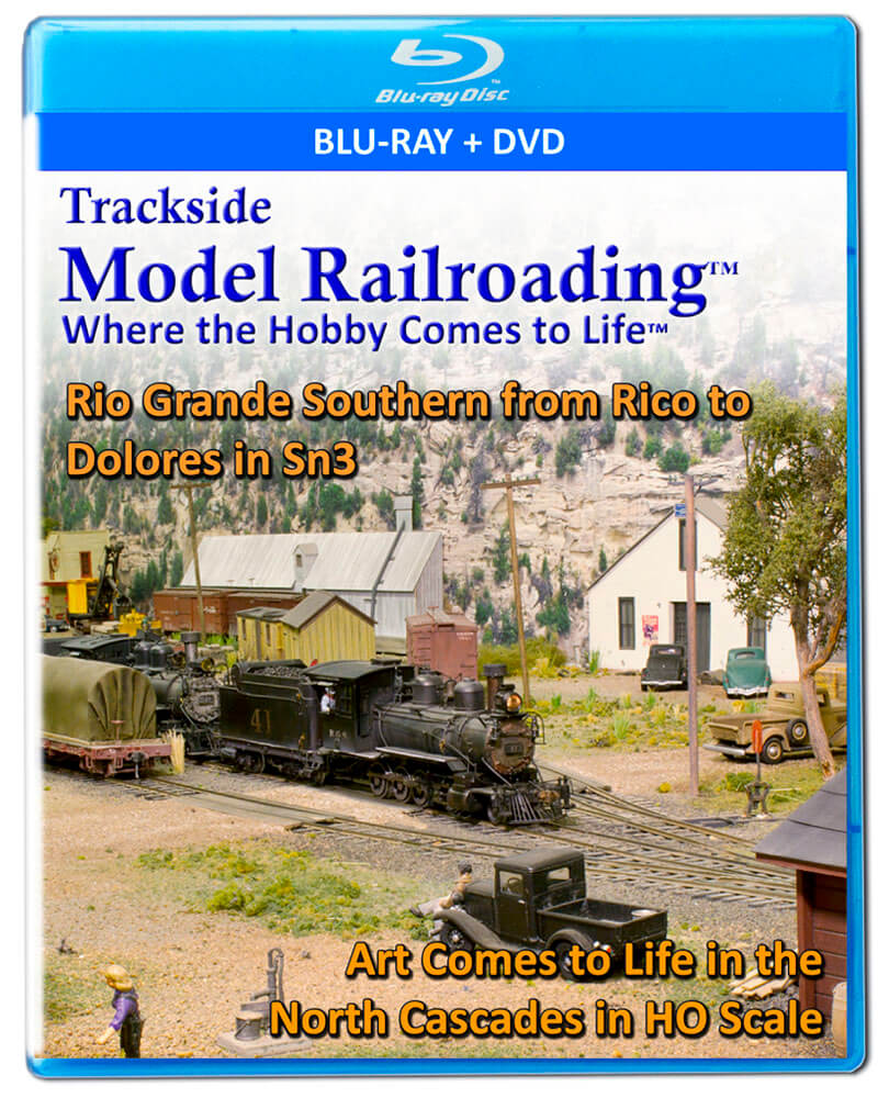 Rio Grande Southern on DVD and Blu-ray along with a Art Comes to Life in the North Cascades