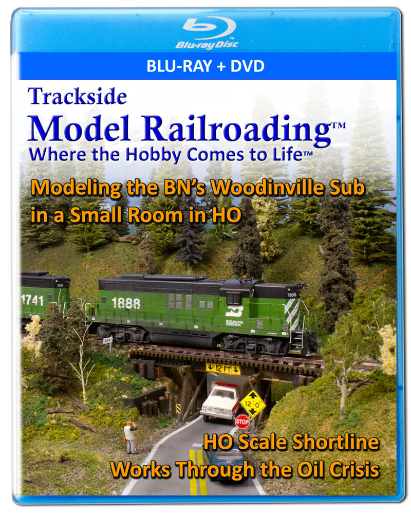 Burlington Northern Model Railroad Movie on Streaming and Disc