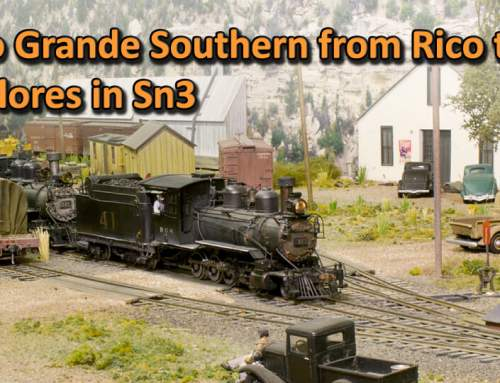 Rio Grande Southern from Rico to Dolores in Sn3