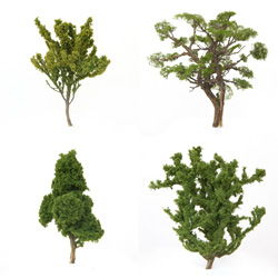 Build Trees from Sagebrush for Your Model Railroad