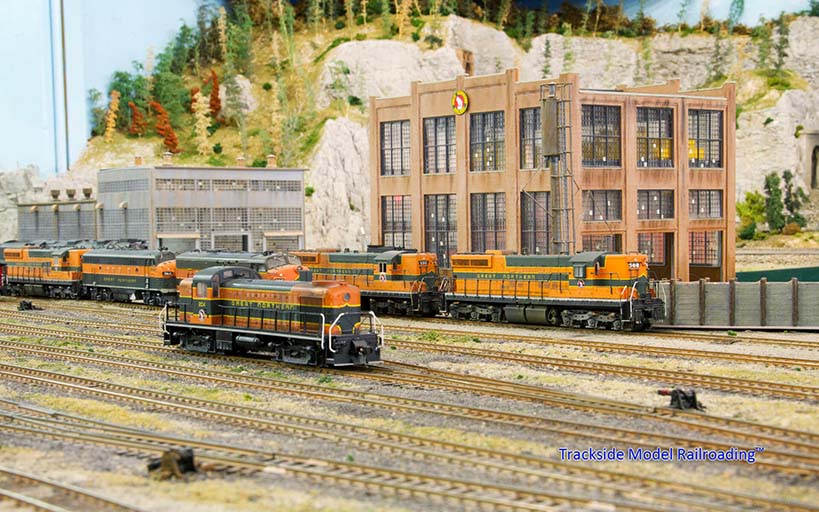 Trackside Model Railroading Evergreen Railroad Modelers club HO Scale Evergreen Railroad Modelers