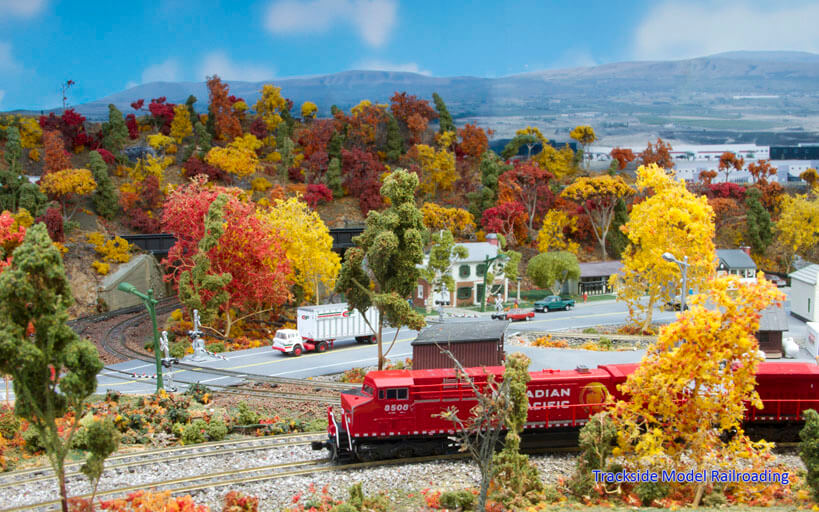 Trackside Model Railroading Allan Cunningham's N Scale Canadian Railroading