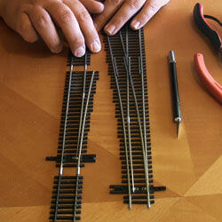 Building a Functional Derailer for Your Model Railroad