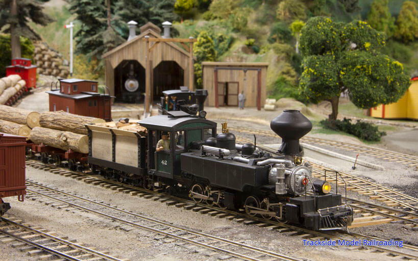 Trackside Model Railroading Chuck Ricketts' O Scale Sherwood, Shelton & Sarazen Railroad