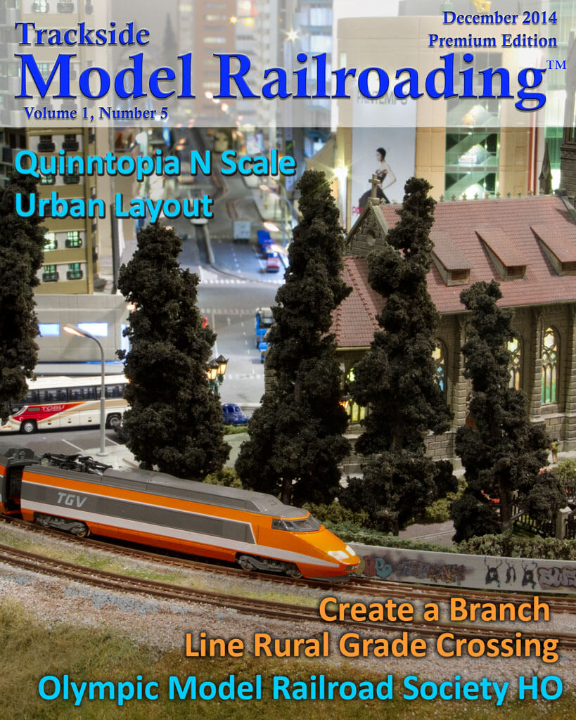 Trackside Model Railroading Digital Magazine December 2013 Cover