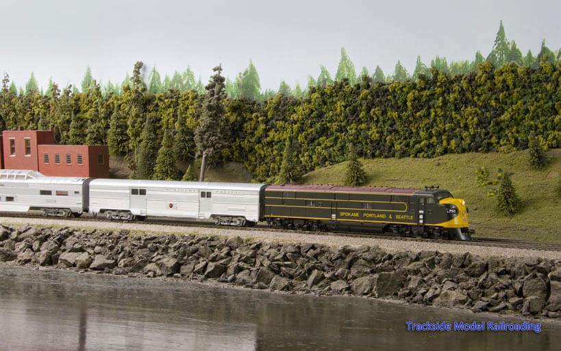Trackside Model Railroading Olympic Model Railroad Society HO Scale Olympic Model Railroad