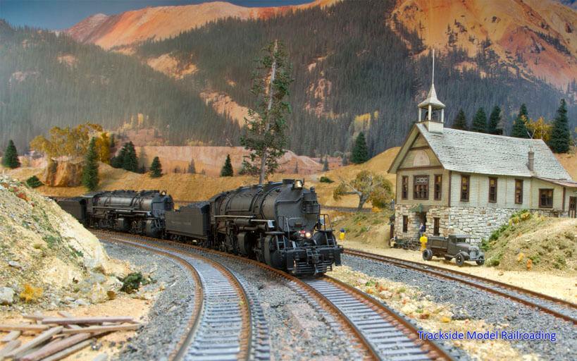 Trackside Model Railroading Ron Peterson's HO Scale Denver & Rio Grande Western and Union Pacific Railroad