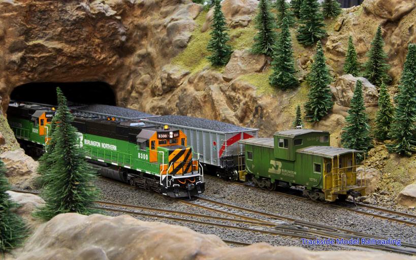 Trackside Model Railroading Inshome Club HO Scale Inshome Layout