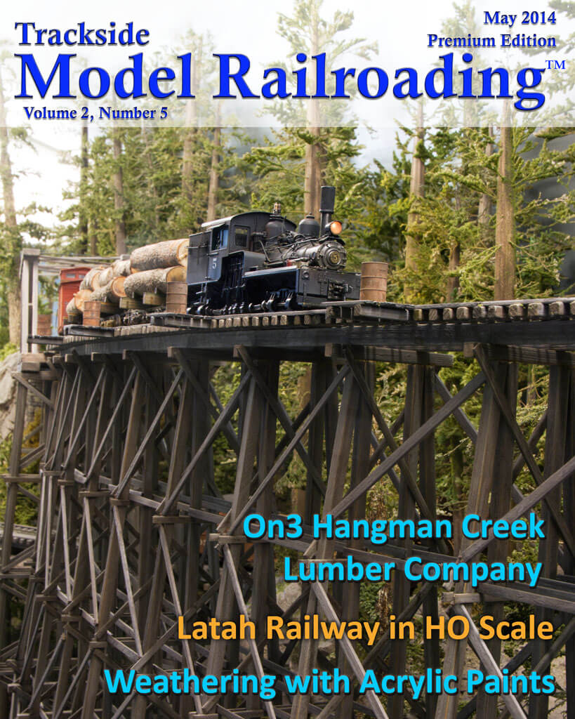 Trackside Model Railroading Digital Magazine May 2014 Cover