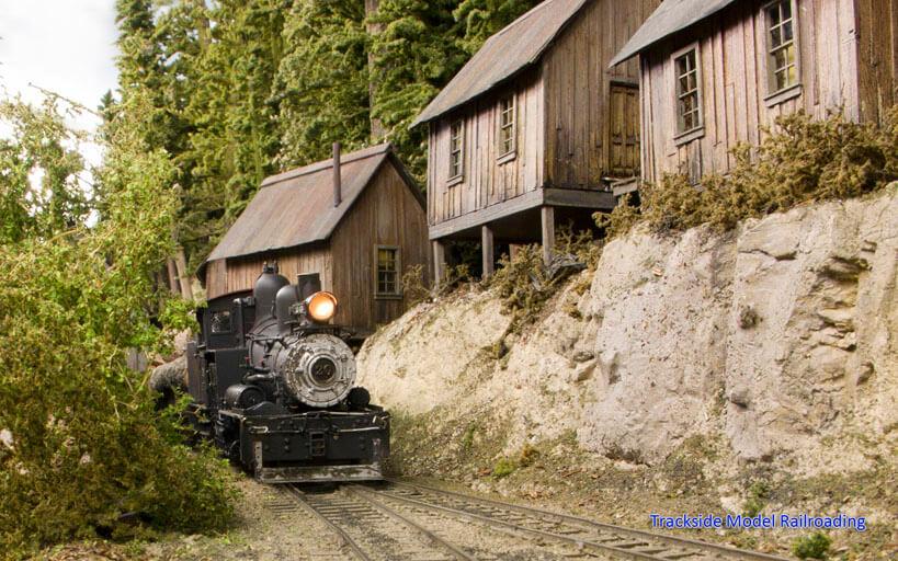 Trackside Model Railroading Jess, Stan & Jim's O Scale Hangman Creek Lumber Company